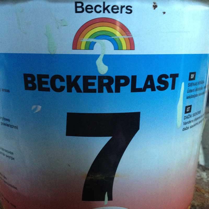 Краска BECKERS - 7